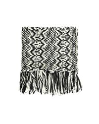 Forever 21 | Black Fringed Infinity Scarf | Lyst