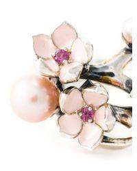 Shaun Leane - Metallic 'Cherry Blossom' Rhodolite Ring - Lyst