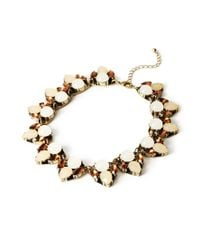 Forever 21 | Natural Faux Gemstone Necklace | Lyst