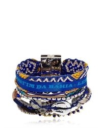 Hipanema - Blue Sailor Bracelet - Lyst
