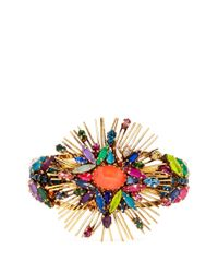 Erickson Beamon | Multicolor 'telepathic' Crystal Firework Cuff | Lyst