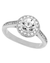 Swarovski - Metallic Angelic Ring - Lyst