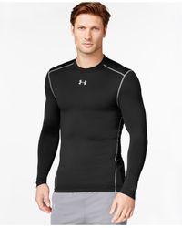 Under Armour   Black Long-sleeve T-shirt for Men   Lyst