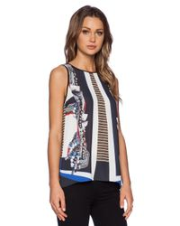 Clover Canyon | Multicolor Ancient Parallels Top | Lyst