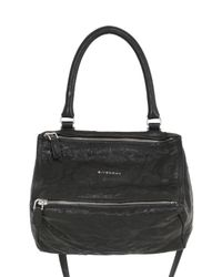 Givenchy | Black Small Pandora Washed Nappa Leather | Lyst