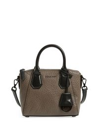 MICHAEL Michael Kors | Brown 'extra Small Campbell' Satchel | Lyst