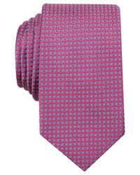 Perry Ellis | Pink Gallagher Mini Slim Tie for Men | Lyst