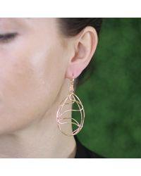 Lucifer Vir Honestus | Metallic Cicaloni Openwork Earrings | Lyst