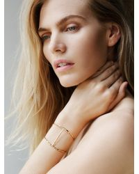 Free People | Metallic Phyllis + Rosie Jewelry Womens Spun Gold Cuff | Lyst