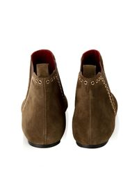 Isabel Marant - Natural Lars Flat Suede Boots - Lyst