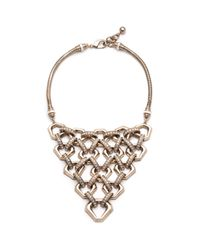 Lulu Frost | Metallic Narcissus Necklace | Lyst
