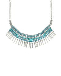 Pull&Bear - Blue Pull Bear Turquoise Necklace - Lyst