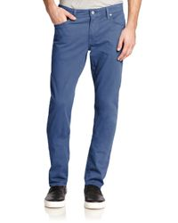 AG Jeans | Blue Graduate Tailored-fit Jeans for Men | Lyst