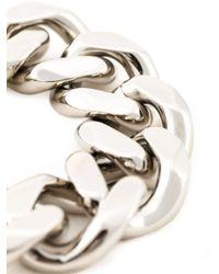 Givenchy   Metallic Chunky Chain Bracelet   Lyst