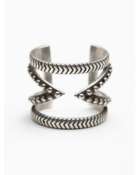 Free People - Metallic Casba Cutout Ring - Lyst