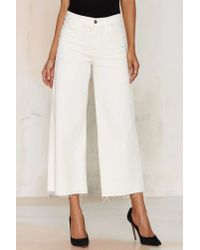 Citizens of Humanity | Melanie Crop Jean - White | Lyst