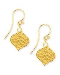 Gurhan | Metallic 24K Single Clove Drop Earrings | Lyst