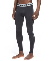 Under Armour - Black Heatgear Compression Leggings for Men - Lyst