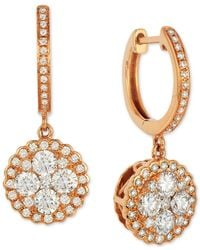 Le Vian | Metallic ® Diamond Drop Earrings (9/10 Ct. T.w.) In 14k Rose Gold | Lyst