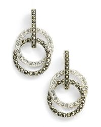 Judith Jack - Metallic 'rings & Things' Drop Earrings - Lyst