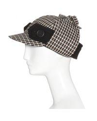 Miu Miu - Black Wool Hat - Lyst
