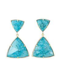 Kendra Scott | Metallic Maury Earrings | Lyst