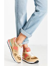 Saucony - Brown Shadow Original Sneaker - Lyst