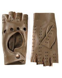 Giorgio Armani   Brown Driver Gloves   Lyst