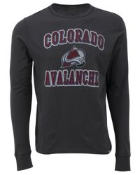 47 Brand - Gray Men's Long-sleeve Colorado Avalanche Flanker T-shirt for Men - Lyst