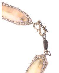 Monique Péan - Natural Diamond Fossilised Walrus Gold Bracelet - Lyst