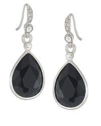 Carolee | Metallic Royal Redeux Pear Drop Earrings | Lyst