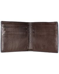 Lacoste | Brown Classic Premium Small Billfold for Men | Lyst