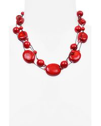 Dabby Reid - Pink 'ronnie Fabulous' Torsade Necklace - Coral - Lyst