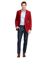 Brooks Brothers   Red Fitzgerald Fit Two-button Sport Coat for Men   Lyst