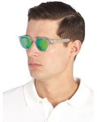 Paul Smith | Metallic Lennie Mirrored Sunglasses for Men | Lyst