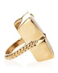 Stephen Dweck   Metallic Motherofpearl Clover Ring   Lyst