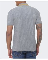 Stussy | Gray Polka Dot Polo Shirt for Men | Lyst