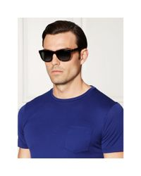 Pink Pony - Black Nautical-striped Sunglasses for Men - Lyst