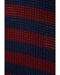 Forever 21 - Blue Striped Knit Neck Tie for Men - Lyst