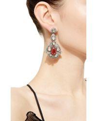 Amrapali - Metallic One Of A Kind Diamond & Tourmaline Chandelier Earrings - Lyst