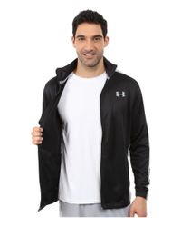 Under Armour - Black Ua Solo Dolo Warm Up Jacket for Men - Lyst