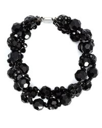 Simone Rocha | Black Crystal Necklace | Lyst