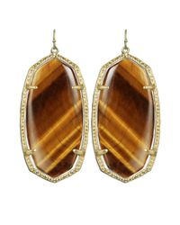 Kendra Scott - Brown Danielle Earrings - Lyst