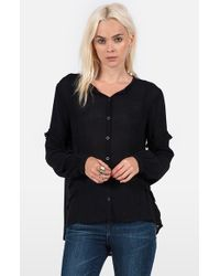 Volcom | Black 'haute Love' Top | Lyst