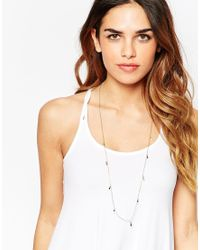 ASOS | Multicolor Limited Edition 70's Mini Tassle Long Chain Necklace | Lyst