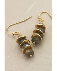 Anthropologie | Blue Pagoda Earrings | Lyst