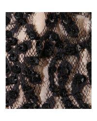 Alice + Olivia - Black Embellished Top - Lyst
