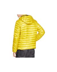 Duvetica - Yellow Troilo Hooded Down Jacket for Men - Lyst