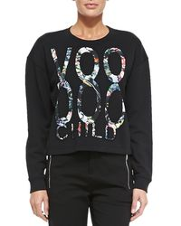 McQ - Black Voodoo Child Sweatshirt - Lyst