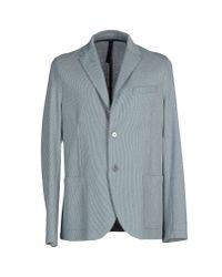 Harris Wharf London - Blue Blazer for Men - Lyst